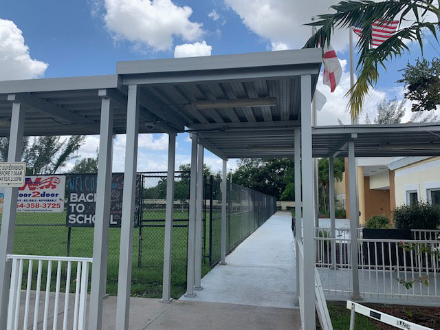 Aluminum Porch Awnings In Panama City Florida